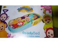 Teletubbie blow up kids bed