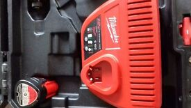 Milwaukee m12 impact drill