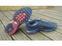 "NIKE AIR MAX PLUS TUNED 1 ""BOSTON"" navy blue , uk size 9"