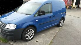 2007 Volkswagen Caddy 1.9 TDI Van With VW Alloys, Central Locking and Reverse Parking Sensors