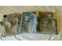 French connection &warehouse skinny jeans size 12. Stretchy. Fab condition