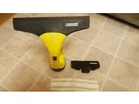 karcher window vac with charger and extras