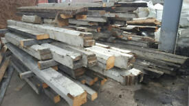 Relcaimed Pitch Pine Various Lengths