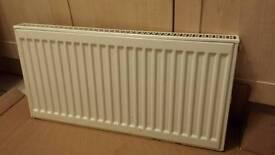 2x single panel radiator