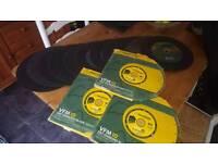 Large bundle of disk cutter blades