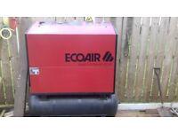 Ecoair d15 screw compressor