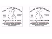 PET SITTING, FEEDING, WALKING, VISITING AND CUDDLING. WE OFFER HOME VISITS, OR DAY AND NIGHT STAYS.