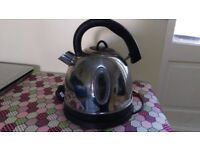 Stainless steel kettle - large spout