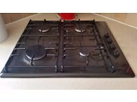 NEFF Gas hob, Model No: T2124B1EU and extractor unit. 2HC