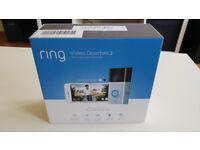 *NEW*UNBOXED* Ring Video Doorbell 2 1080p Smart Home