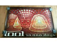 Tool 10,000 days poster. Alex Grey. Very Large.