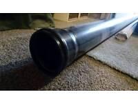 Soil Pipe 110mm 3m Black