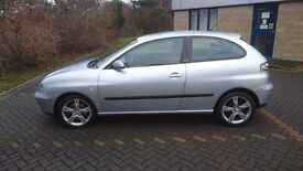 Seat Ibiza FR for sale, great runner. Mot'd April 17. £950 ono . Cheap to run .