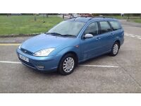 Ford Focus Ghia 1.6 Petrol Only 55k Full Leather 2003