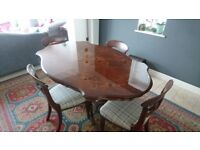 Beautiful italian wooden dining table