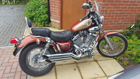 Yamaha Virago XV535 DX 2002, VERY GOOD CONDITION & ONLY 17k