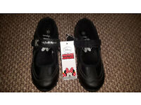 GIRLS SCHOOL SHOES SIZE 12 NEW - RRP £15