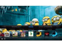 Amazon Fire TV Stick KODI 16.1 SPORTS MOVIES TV BOXSETS KIDS ADULT -*- MOBDRO