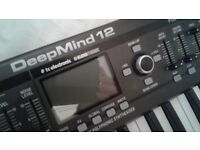 Deep Mind 12 Analogue Poly Synth. Keyboard - Boxed with Manual
