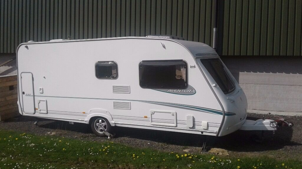 Abbey Aventura 330 Tourer With Bradcot Awning And Annex