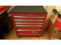 Sealed superline pro 5 drawer roll cab