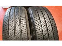 195 70 15 C 2 x tyres Landsail LSV88 M+S