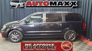 2015 Chrysler Town & Country S Lthr, Nav, DVD! $229 Bi-Weekly! A