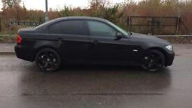 BMW black on black
