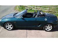 Cheap summer fun, MG MGF VVC convertible 1997, short mot