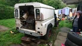 Land rover defender 110 project
