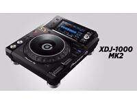 Pioneer XDJ-1000 MK2 *New & Unused With Warrenty* Includes All Packaging, Cables & Manuals