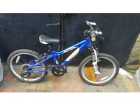 CARRERA BLAST MOUNTAIN BIKE 20'WHEELS 6YRS+