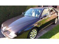 Alfa Romeo 166 2.0 T.Spark 4dr, manual, 54k, 2000