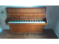 FREE TO COLLECT ANY EVENING. NO PAYMENT REQUIRED. B. Squire - Small upright piano.