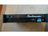 Power Amplifier,Studiomaster 700D, 350W per channel
