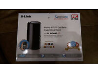 D Link D868L AC1750 Dual Band Wireless Router