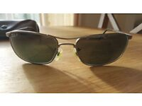 Pre Owned Ray Ban Mens Sunglasses Gunmetal Gray Frames