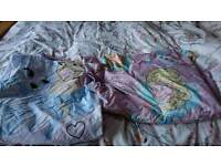 2 sets of single Disney princess bedding,