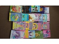 selection of books in good condition for girls