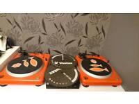 Pair vestax pdx2000 turntables