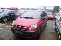2004 CITROEN XSARA PICASSO LX, 2LT HDI, BREAKING FOR PARTS ONLY, POSTAGE AVAILABLE NATIONWIDE