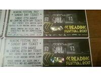 Reading festival sunday day ticket x 2
