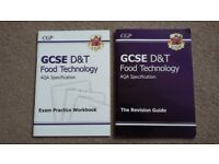 CGP GCSE D&T Food Technology AQA Revision Guide, and Exam Practice Workbook