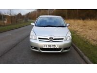 TOYOTA COROLLA VERSO 2006 T3 2.2D4D 7 SEATS, FULL TOYOTA SERVICE HISTORY(13 STAMPS), 1 FORMER KEEPER