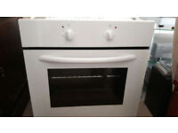 Essentials White Intergtated Oven Brand New