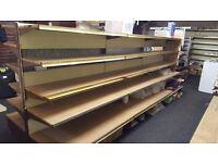shelving for shop supermarket