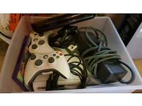 Xbox 360 2x controllers and Kinect sensor
