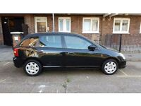 Honda CIVIC 2001 LADY OWNER LOW MILEAGE FULL SERVICE ONE PREVIOUS OWNER £1000 ONO