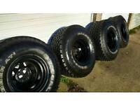 "mitsubishi l200/Shogun Big 35"" wheels and tyres"