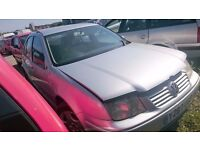 2001 VOLKSWAGEN BORA SE, 1.9 TDI, BREAKING FOR PARTS ONLY, POSTAGE AVAILABLE NATIONWIDE